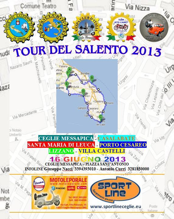 Tour del Salento 2013