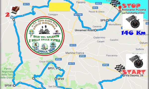 Il Raid del Salento e della Valle d'Itria