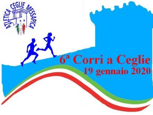 Gara podistica 6ª Corri a CEGLIE