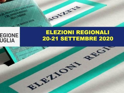 Elezioni Regionali Puglia